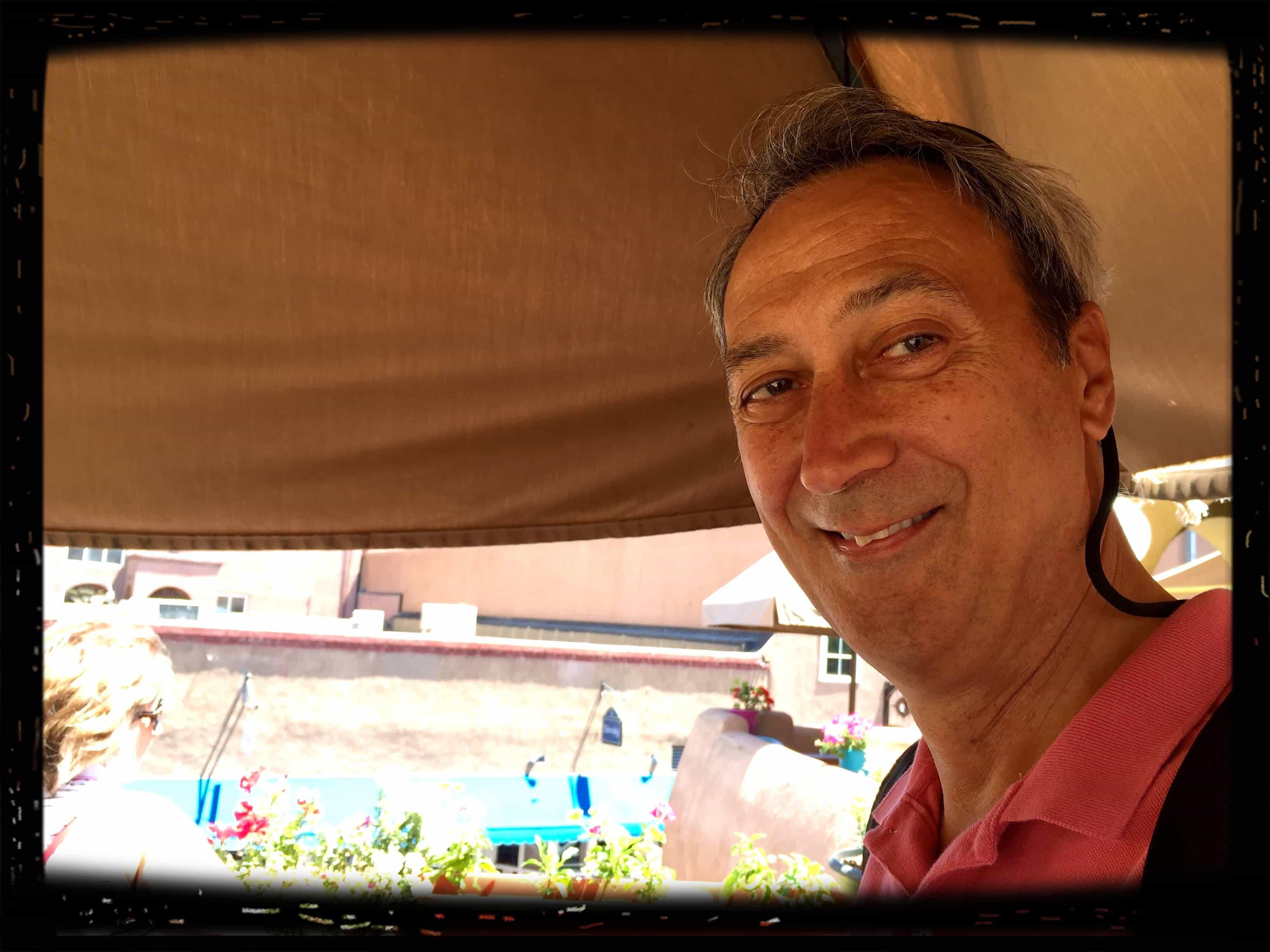 Bruce in Santa Fe